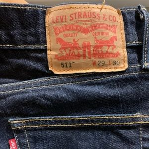 Men's Levi's 511 slim blue jeans 29x30